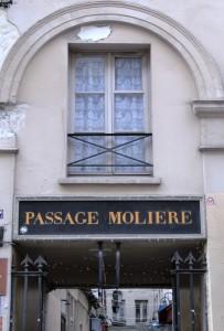 Passage Molière - Entrée rue Saint Martin
