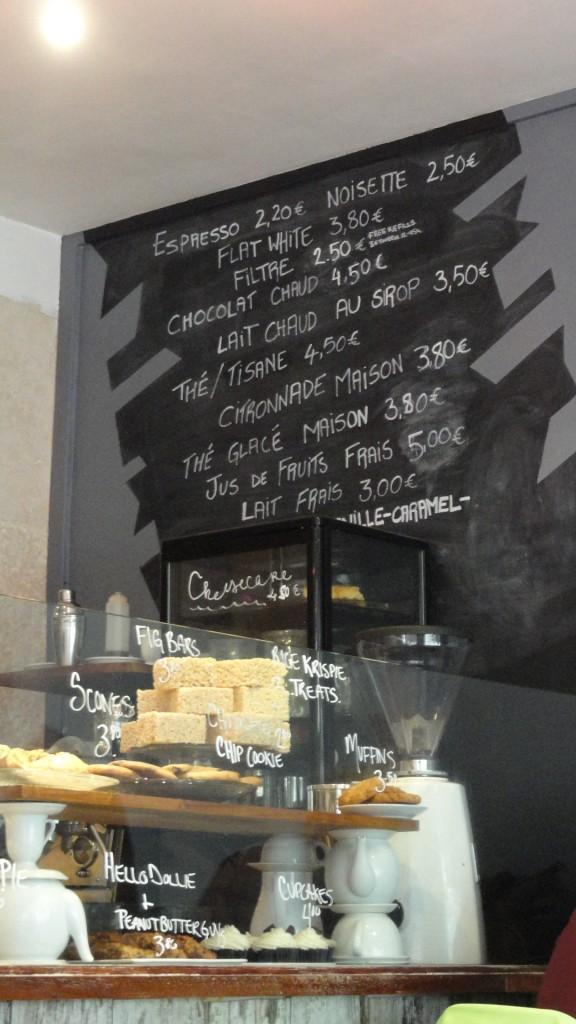 Sugarplum, Paris 5e - Carte des boissons