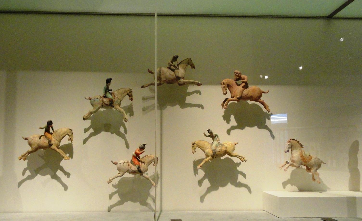 Musée Guimet - Chine - Joueuses de Polo