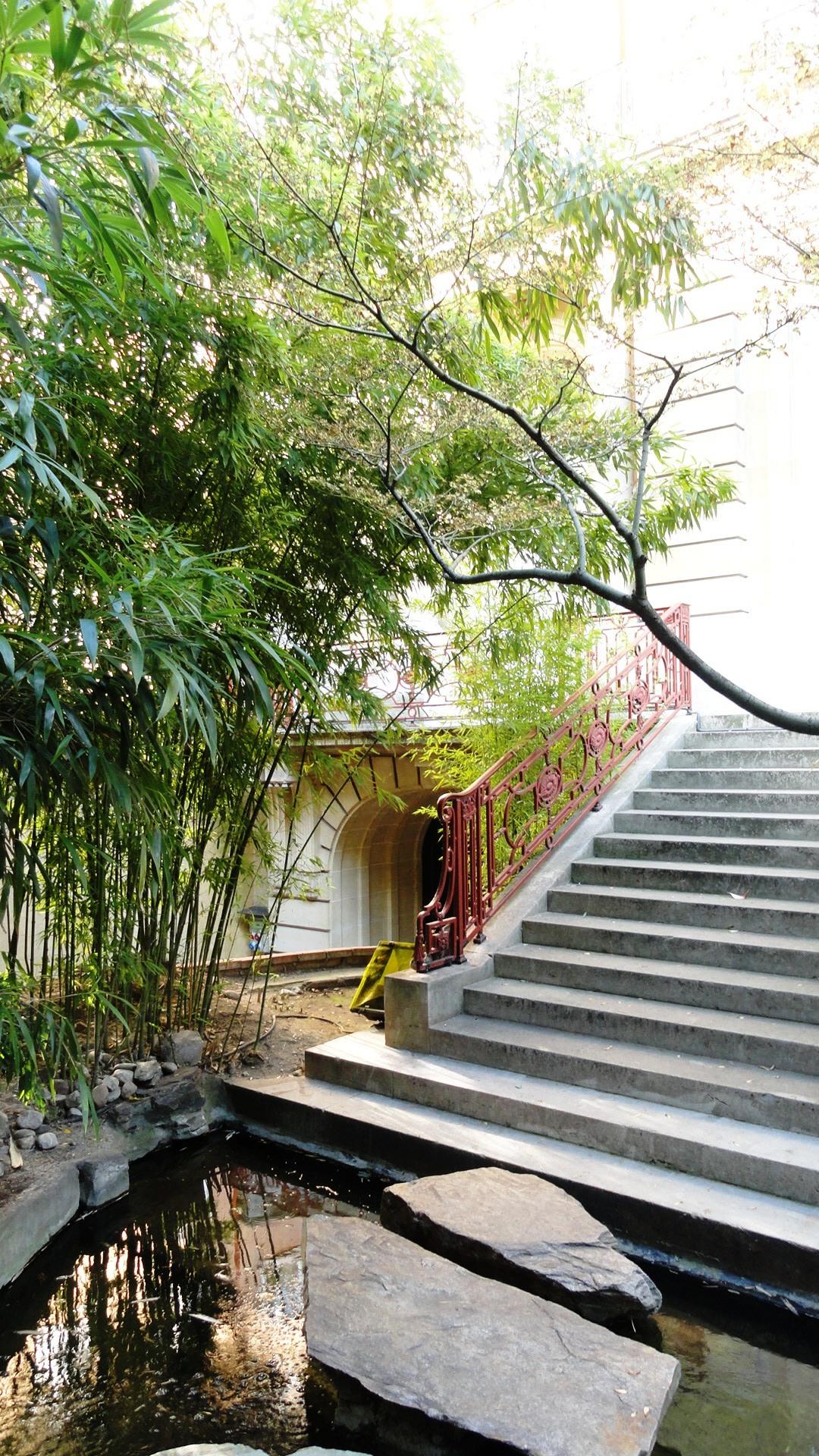 Musée Guimet -  Panthéon bouddhique, Hôtel Heidelbach - Jardin japonnais