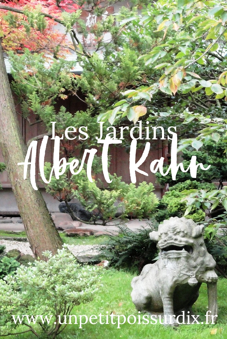 L'automne aux Jardins Albert Kahn