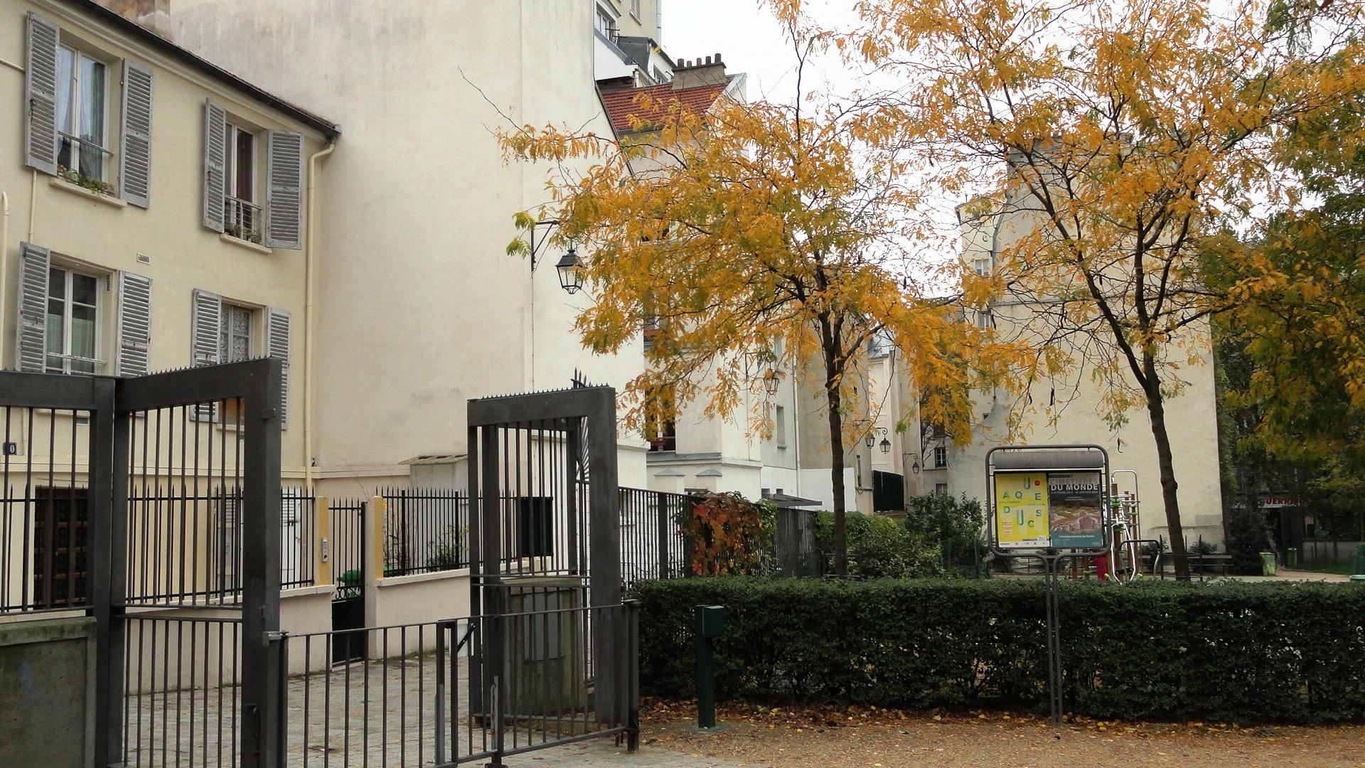 Square des deux Nèthes, Paris 18e