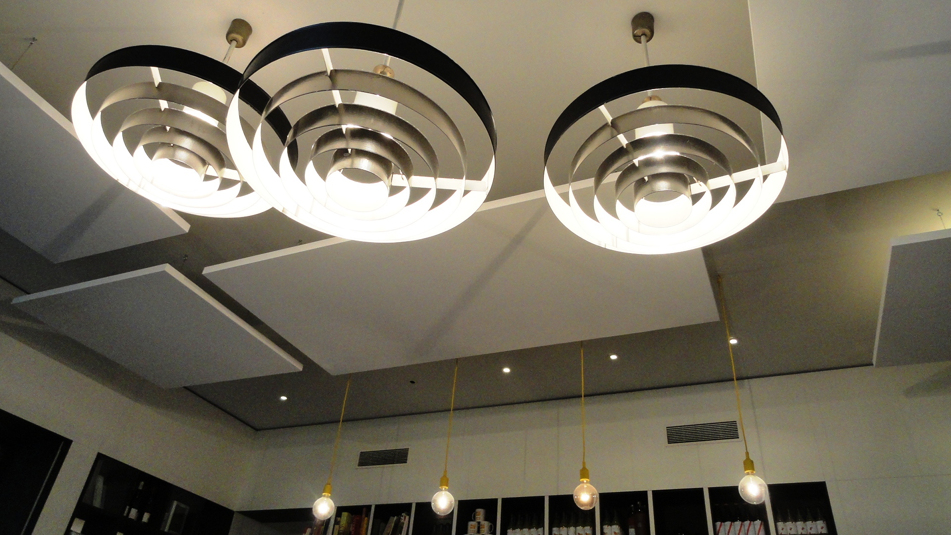 Le BAL Café - Plafond