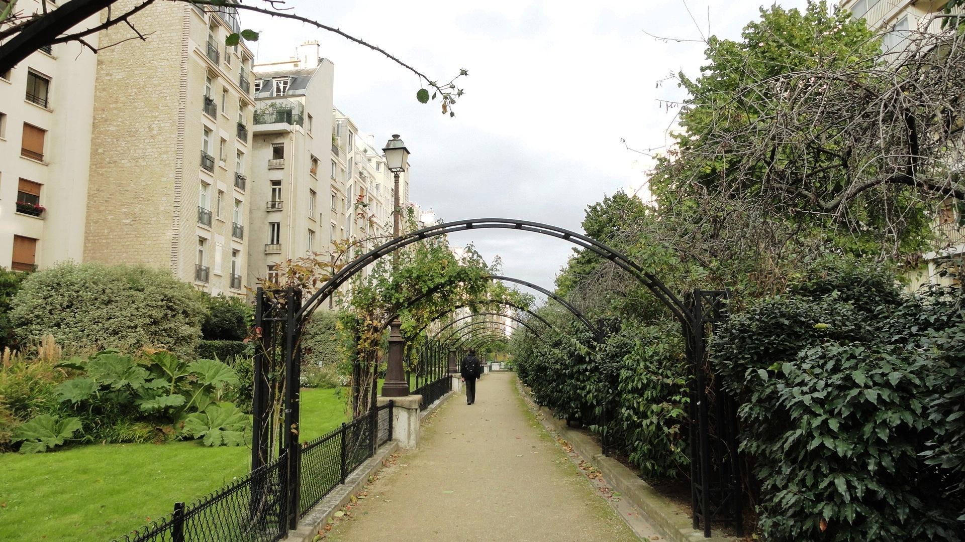 Square Jan Doornik, Paris 16e