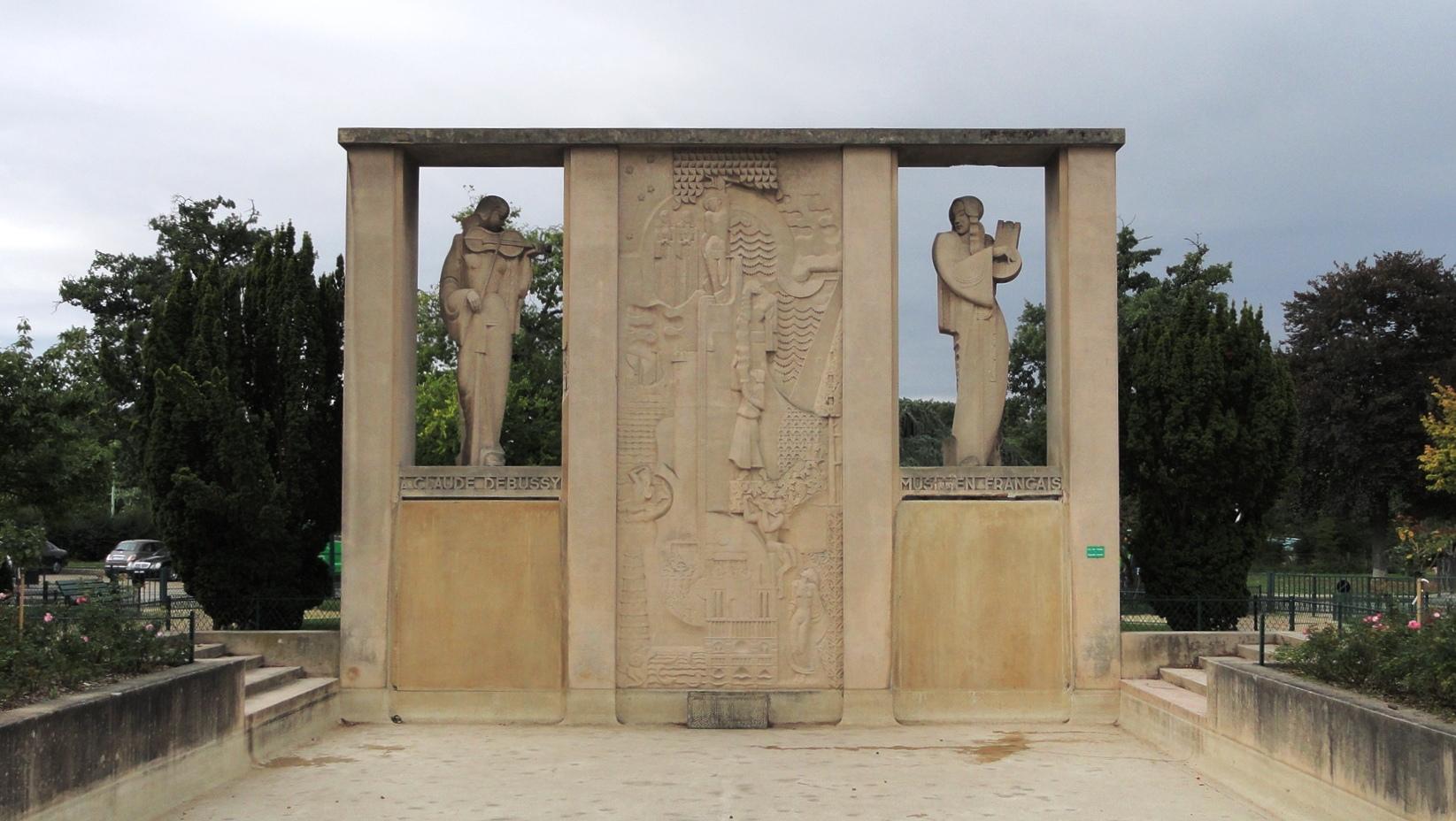 Fontaine Debussy, Paris 16e