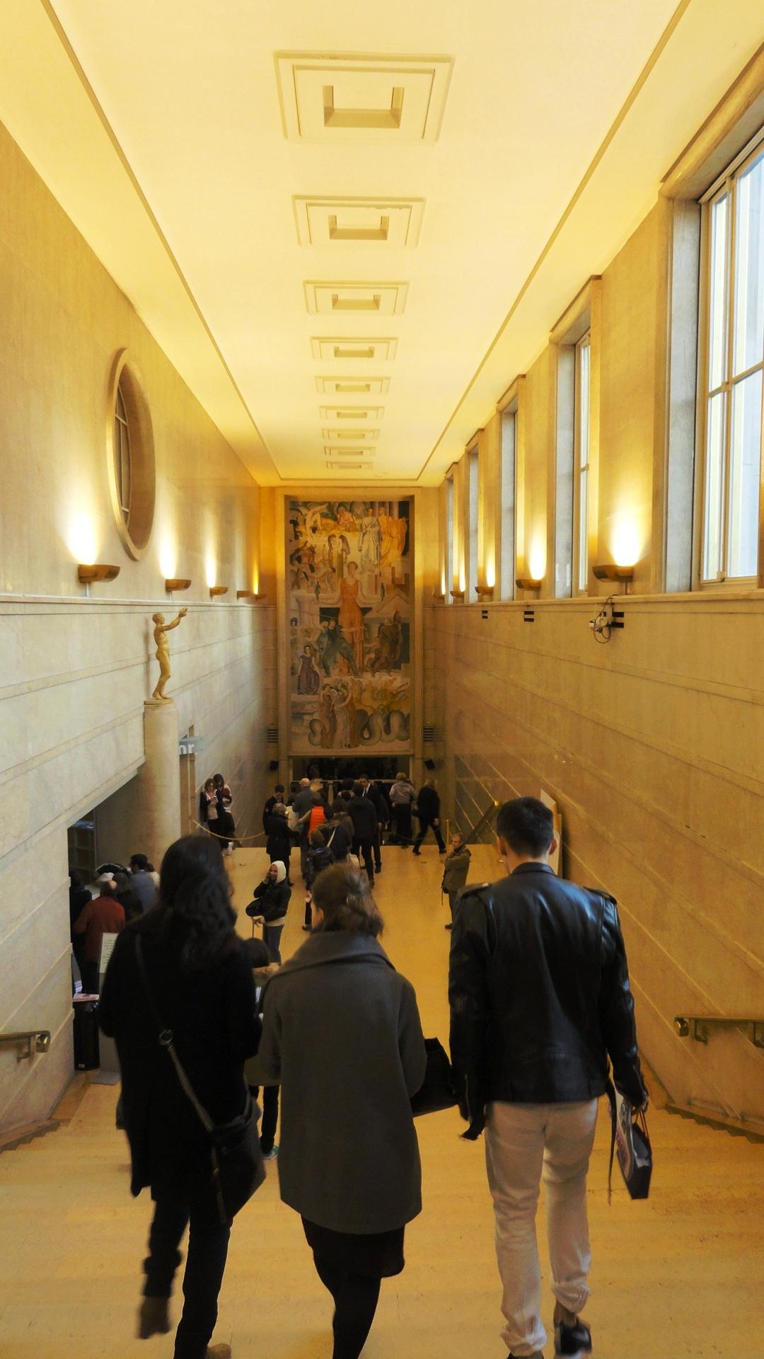 Théâtre de Chaillot - Art Déco - Escalier d'entrée