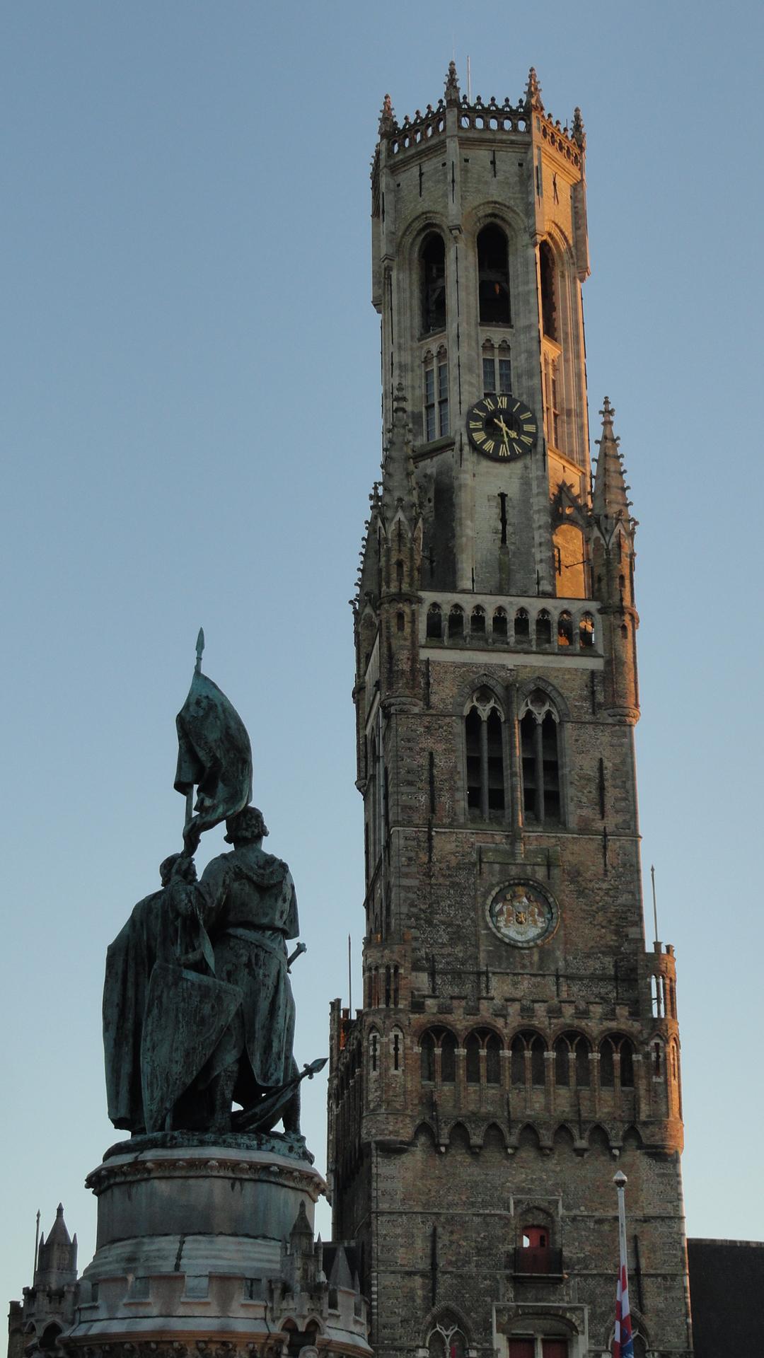 Bruges - Markt - Belfort (Beffroi)