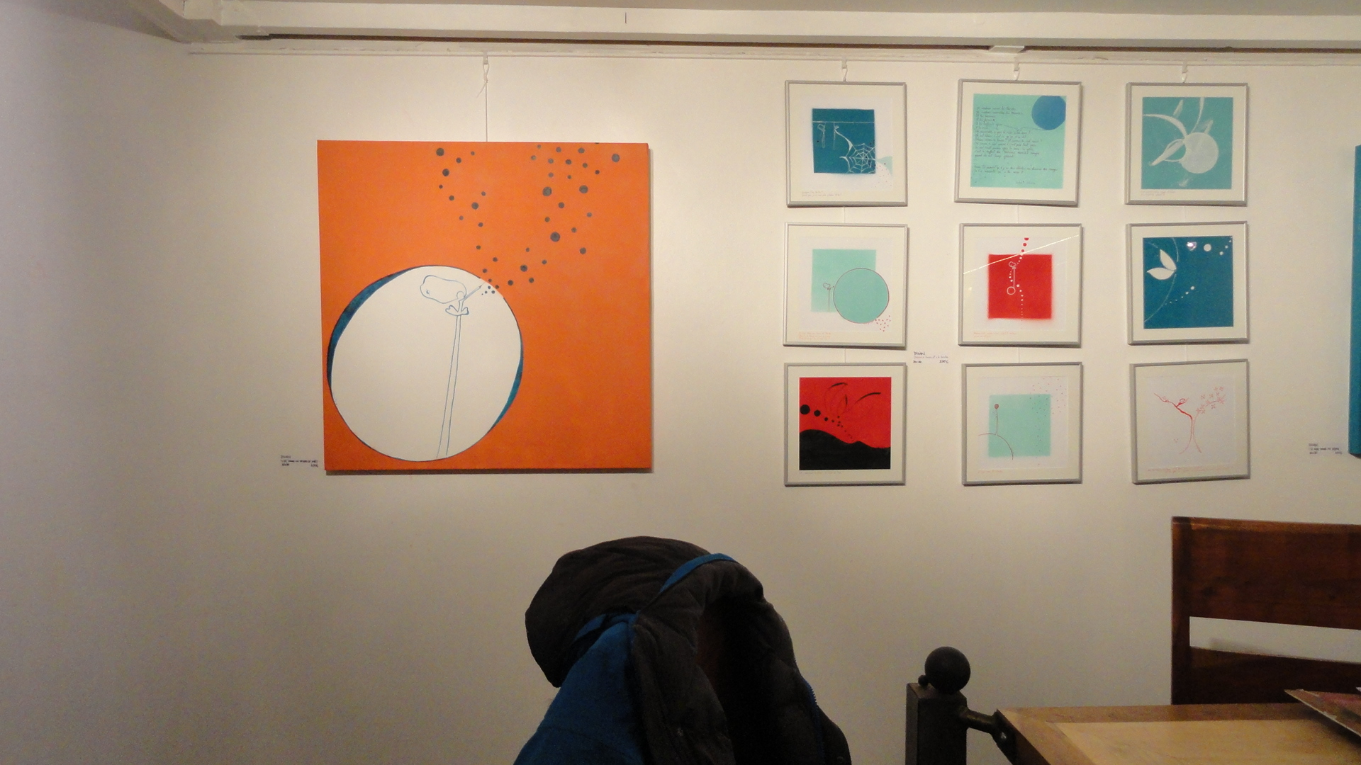 L'Aiguillage Galerie - Les Frigos - Paris 13e - Exposition In & Out - Dilian