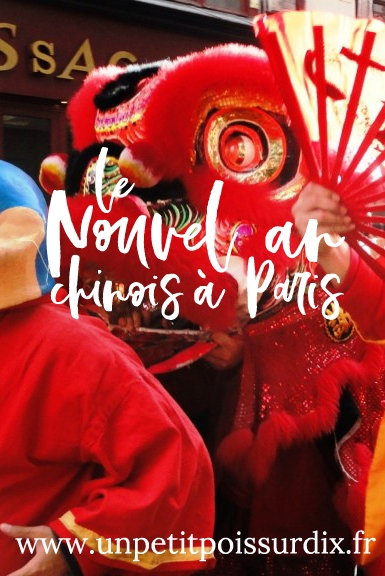 Le nouvel an chinois dans le Marais