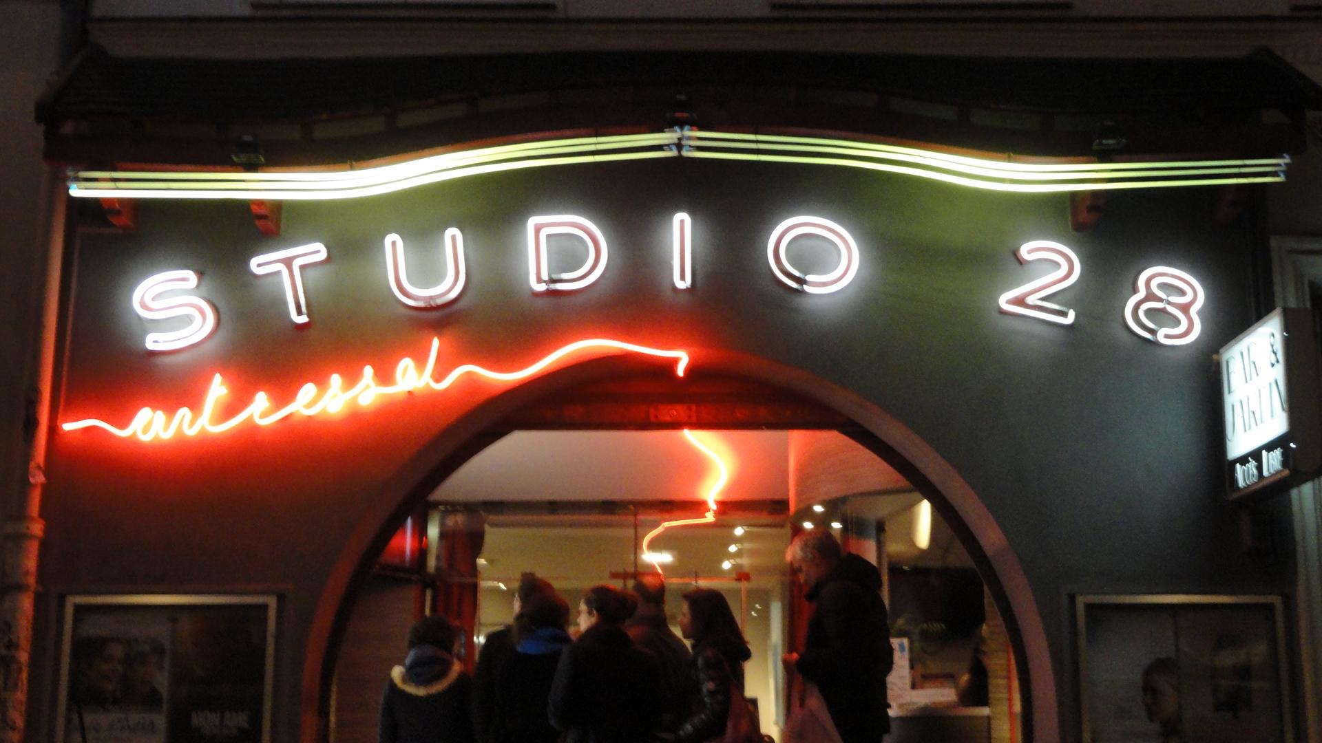 Studio 28 - La devanture
