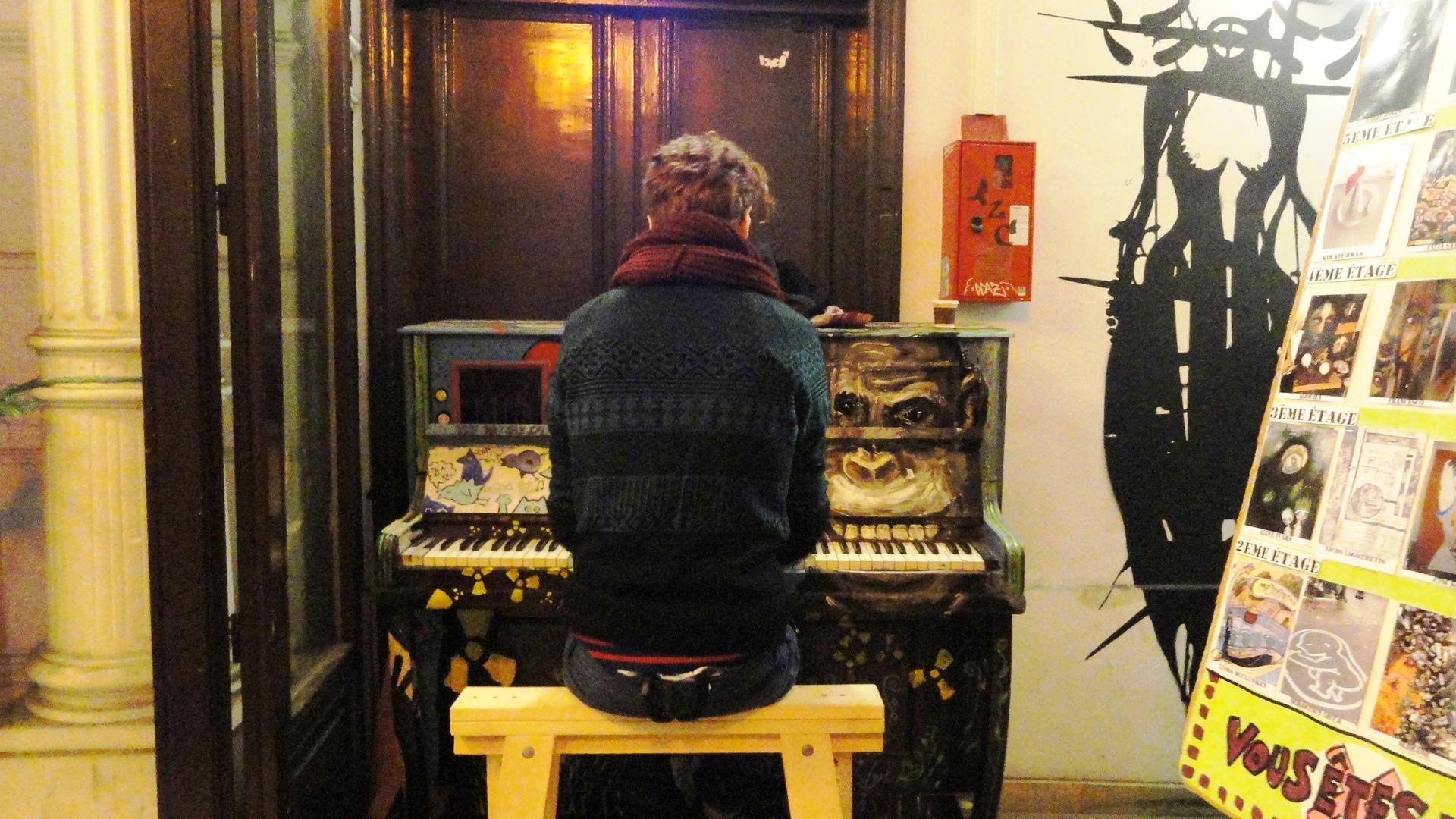 59 rue de Rivoli, Paris 1er - Piano