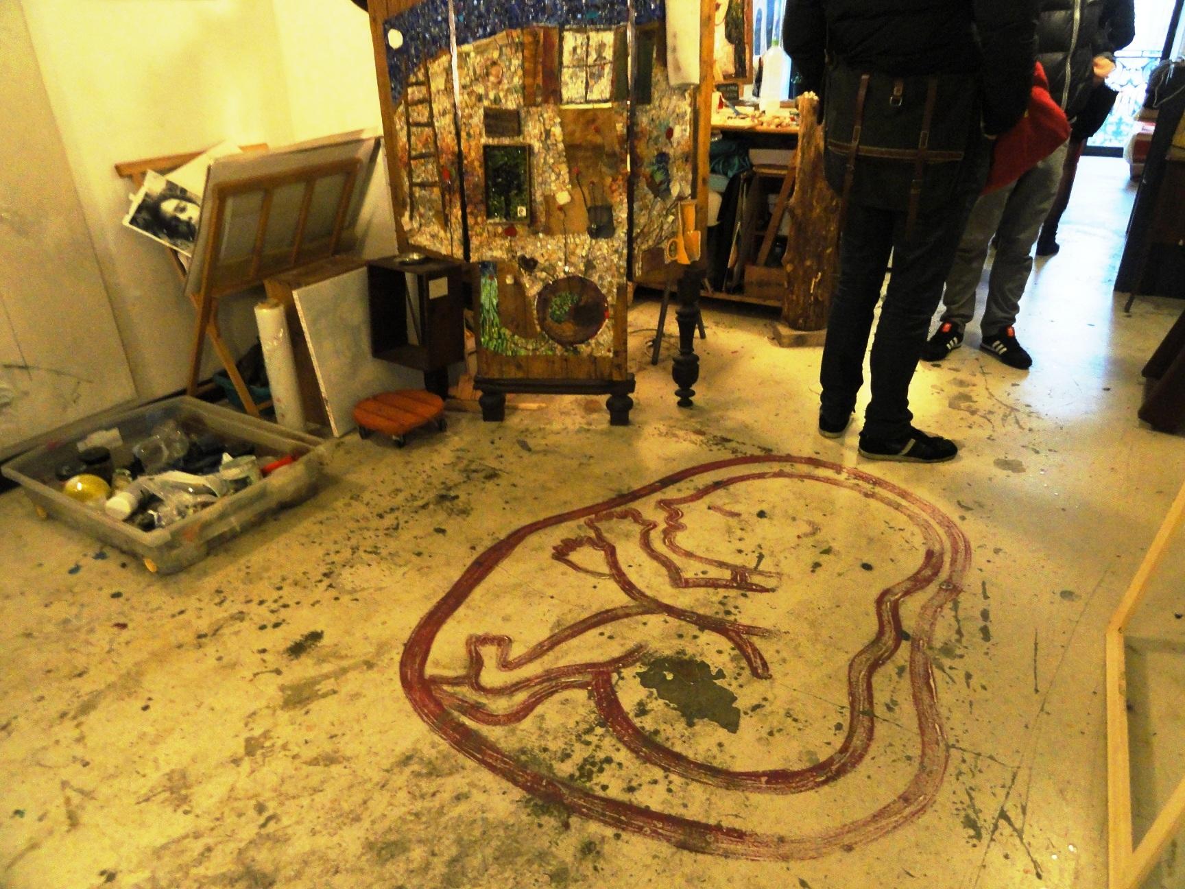 59 rue de Rivoli, Paris 1er - Atelier de Sébastien Lecca