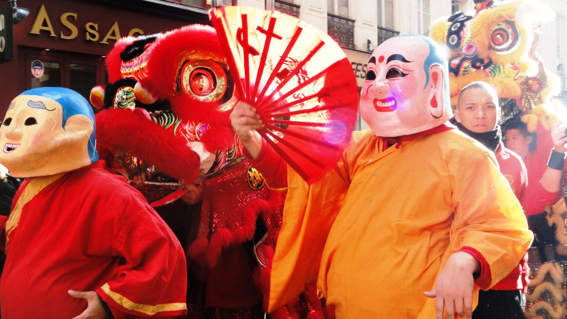 Nouvel an chinois dans le Marais - Lion