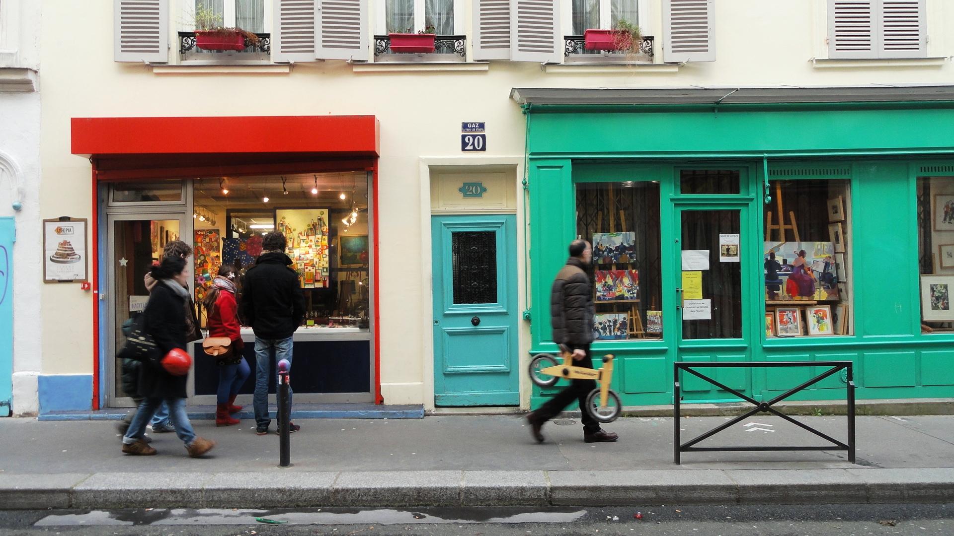 Rue de la Villette, Paris 19e