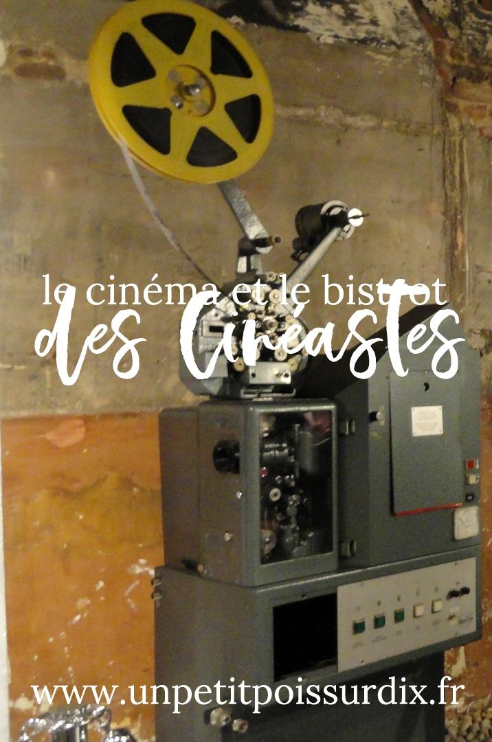 Le cinéma et le bistrot des cinéastes