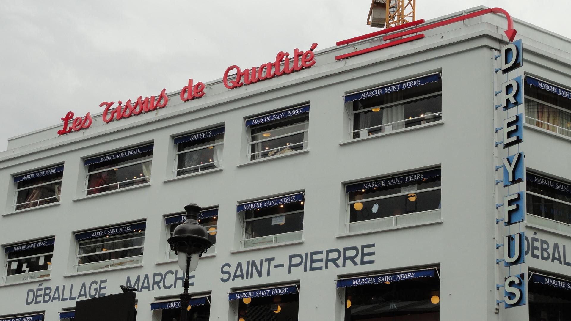 Marché Saint Pierre, Paris 18e - Magasin Dreyfus