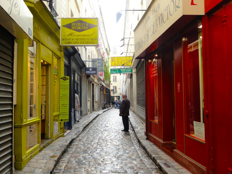 Balade dans le Faubourg Saint Antoine - Passage du Chantier