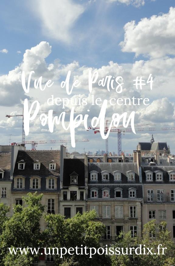 Vue de Paris - Depuis le Centre Pompidou