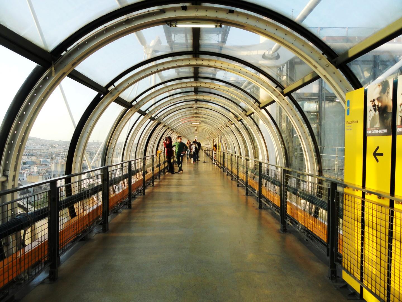 Centre Pompidou - Dernier étage