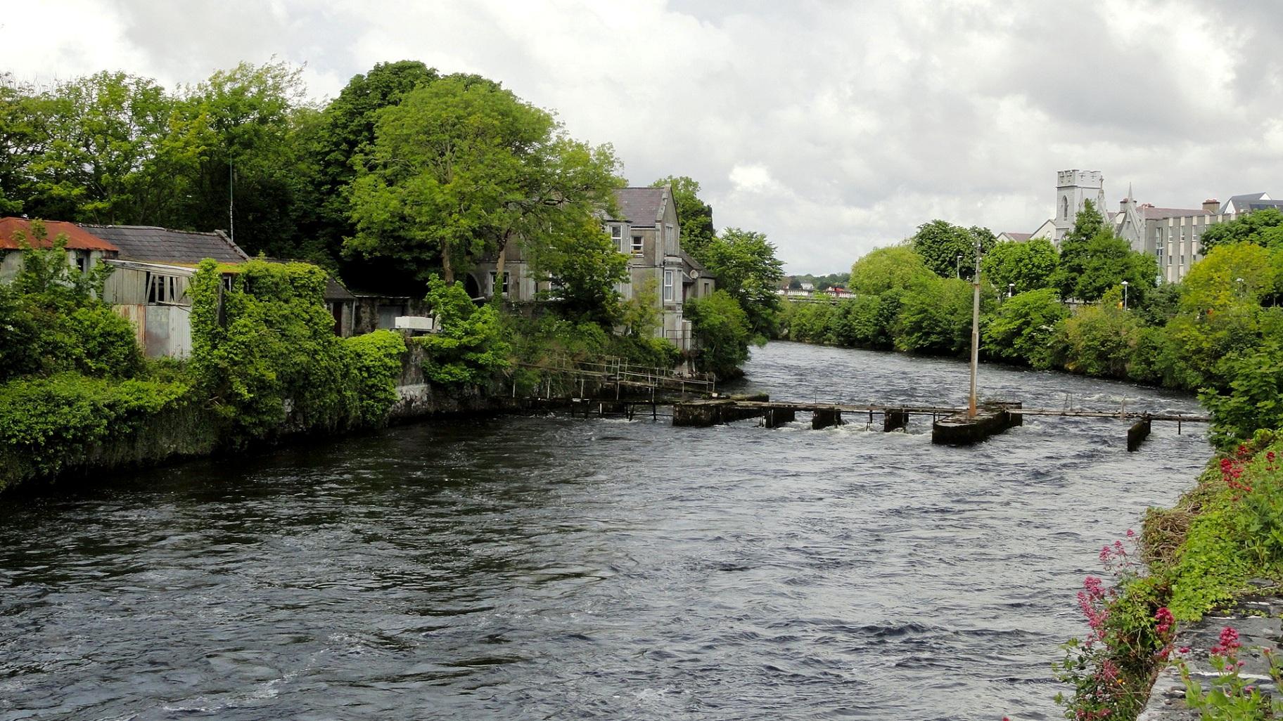 Galway - Le long de River Corrib