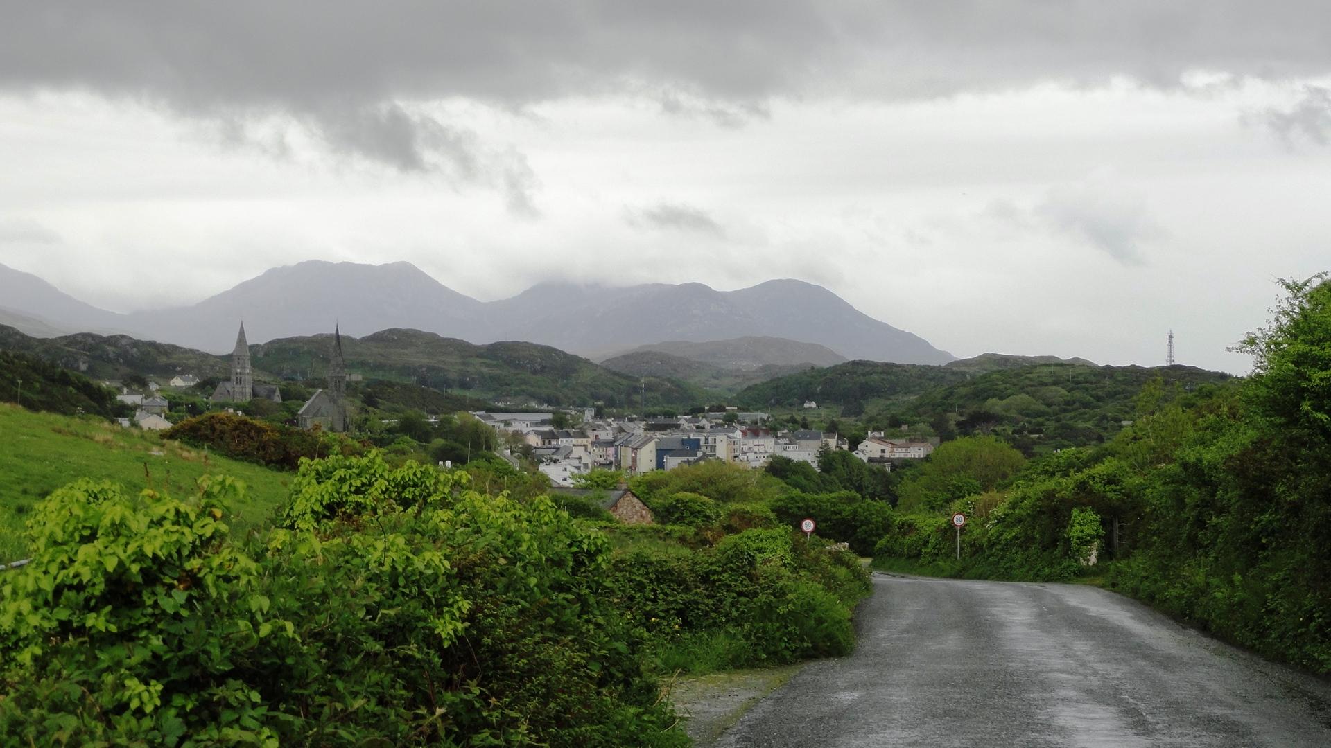 Clifden - Vu depuis la Sky Road