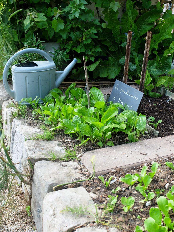 Propriété Caillebotte, Yerres - Le jardin potager