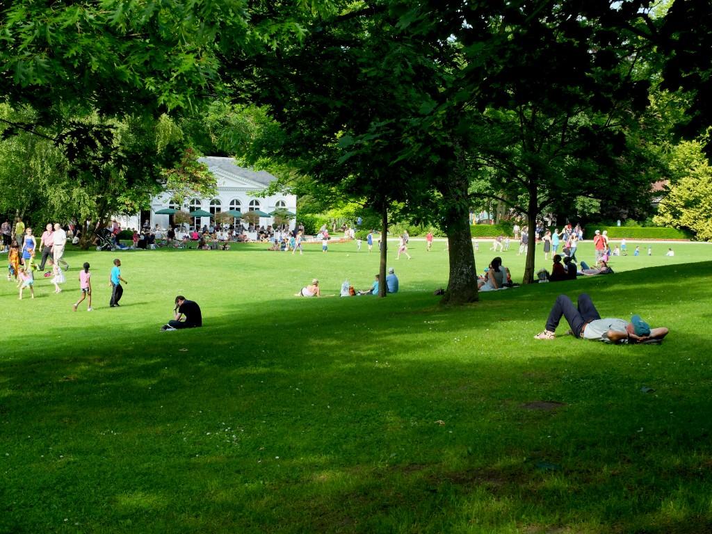 Propriété Caillebotte, Yerres - Le Parc et l'Orangerie