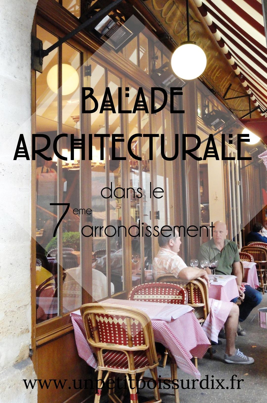 Balade architecturale dans le 7e arrondissement de Paris