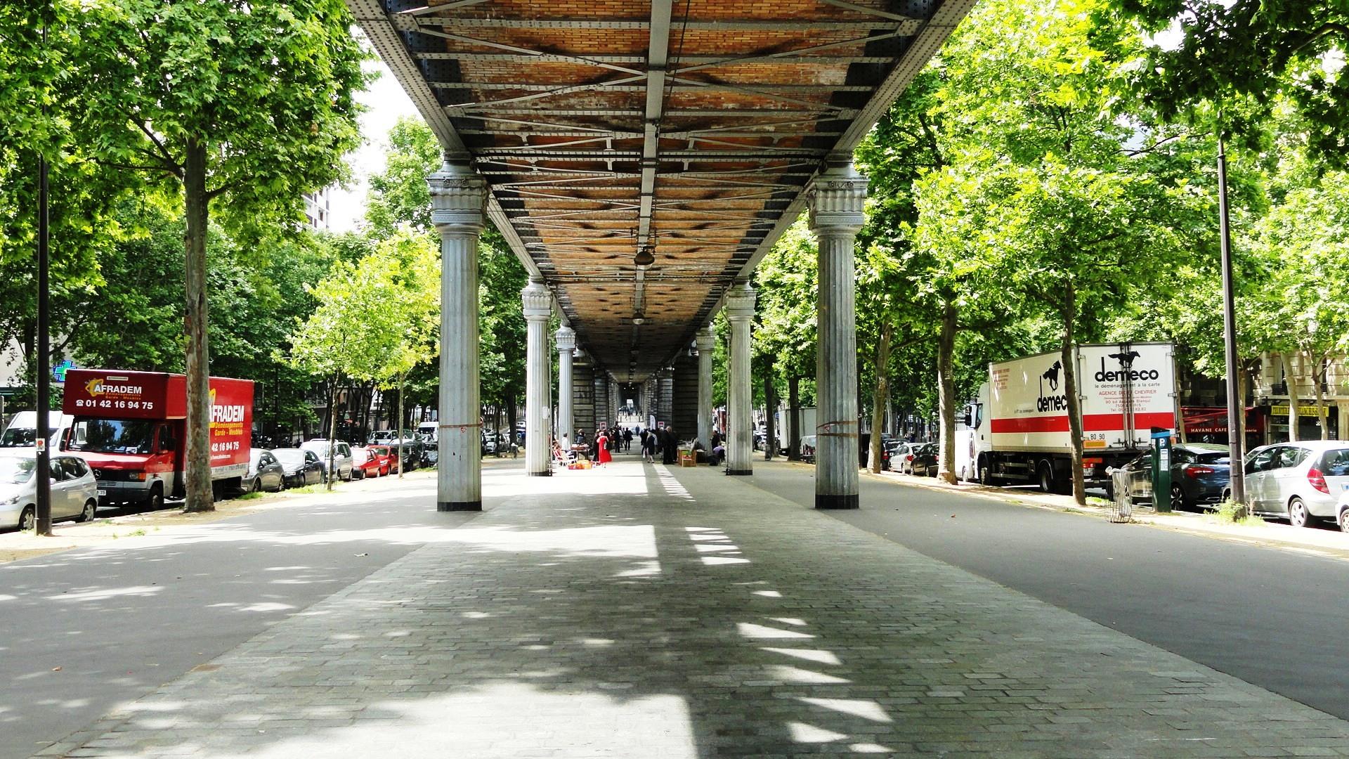 Lézarts de la Bièvre 2014 - Viaduc de la Ligne 6