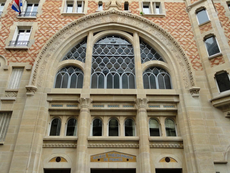 Square Rapp - Immeuble Art Nouveau - Société Théosophique