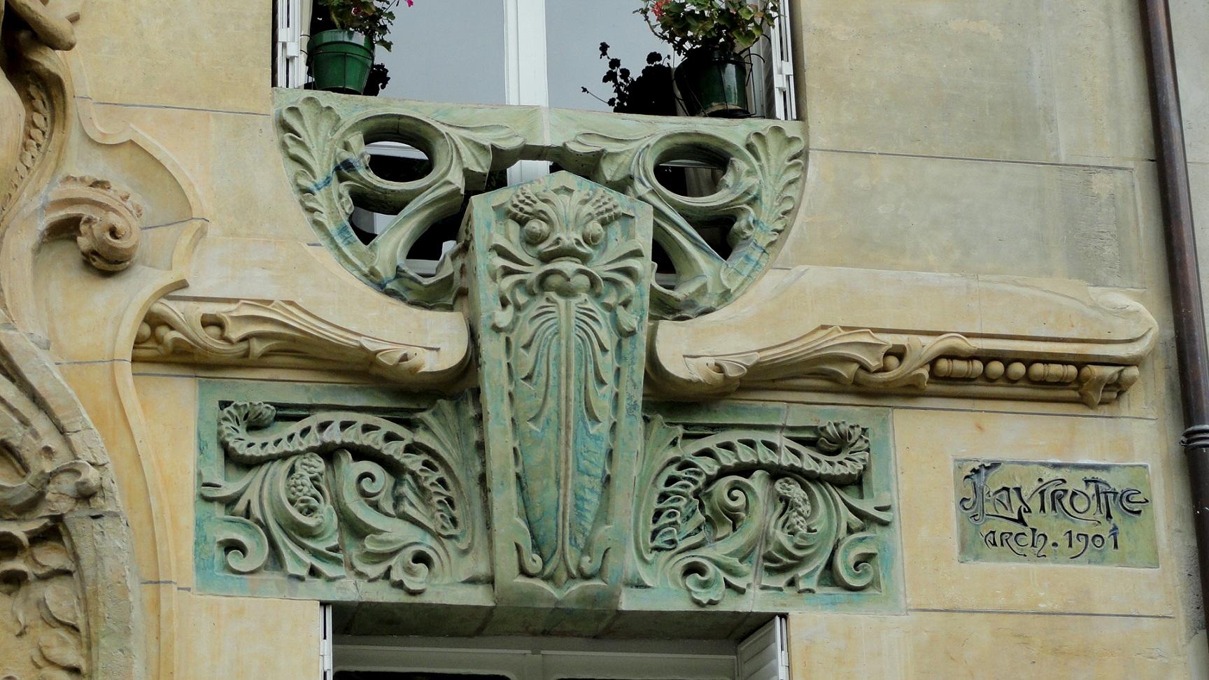29 avenue Rapp - Immeuble Art Nouveau - Lavirotte