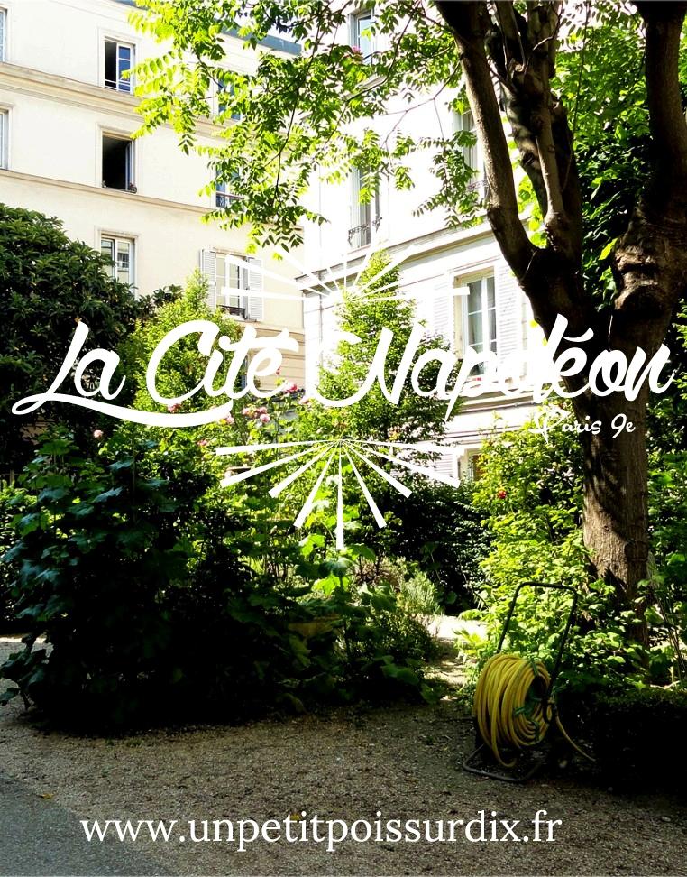 Cité Napoléon - Paris 9e, rue Rochechouart