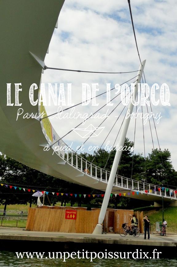 Canal de 'Ourcq, à pied et en bateau - De Paris à Bobigny