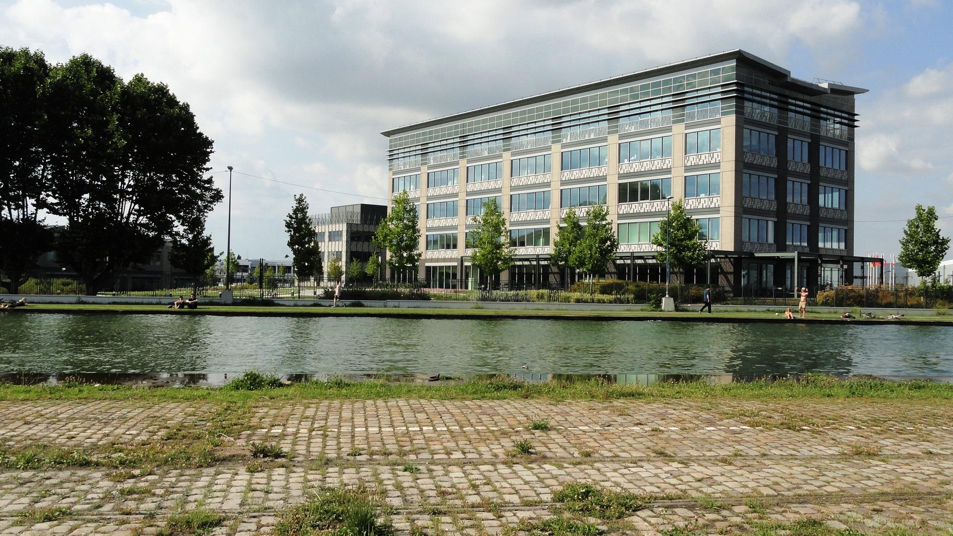 Canal de l'Ourcq - Pantin