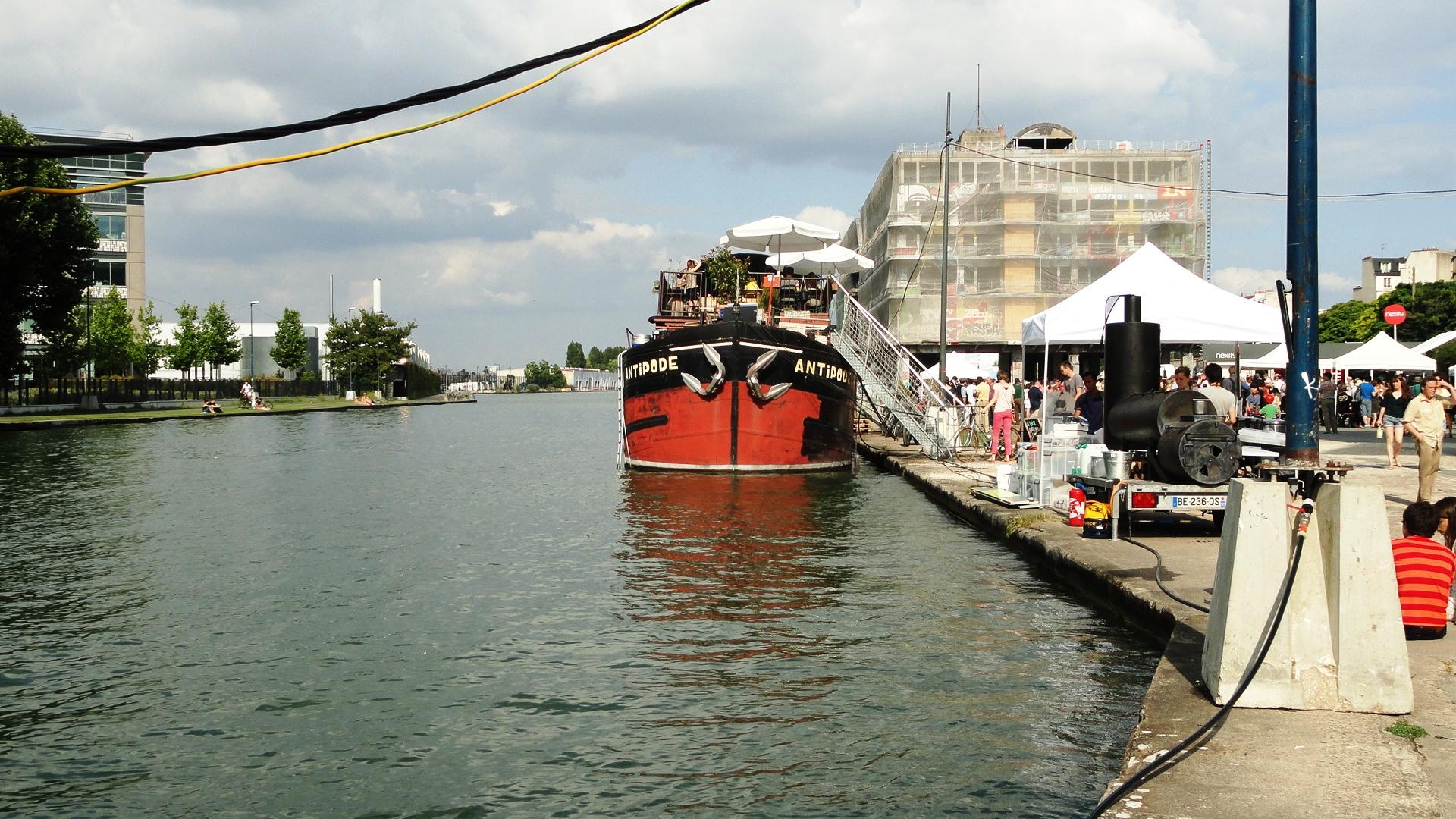 Canal de l'Ourcq - Pantin - Été du canal, bal pop'