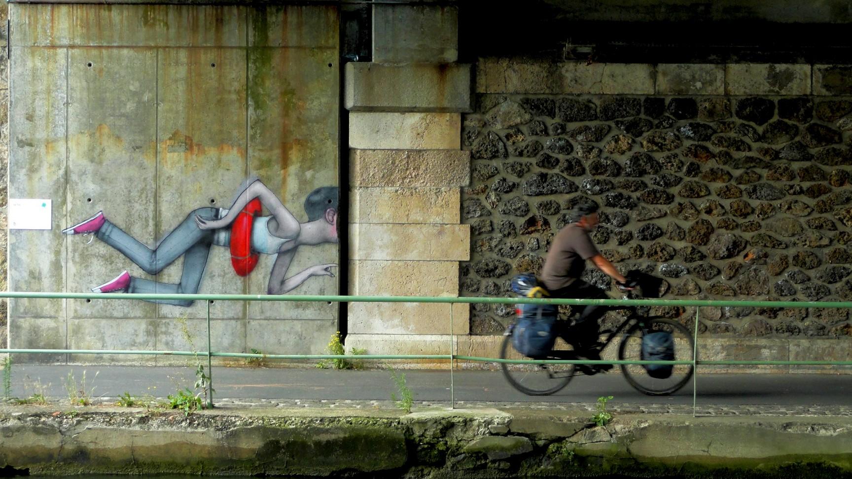 Canal de l'Ourcq - Pantin - SETH