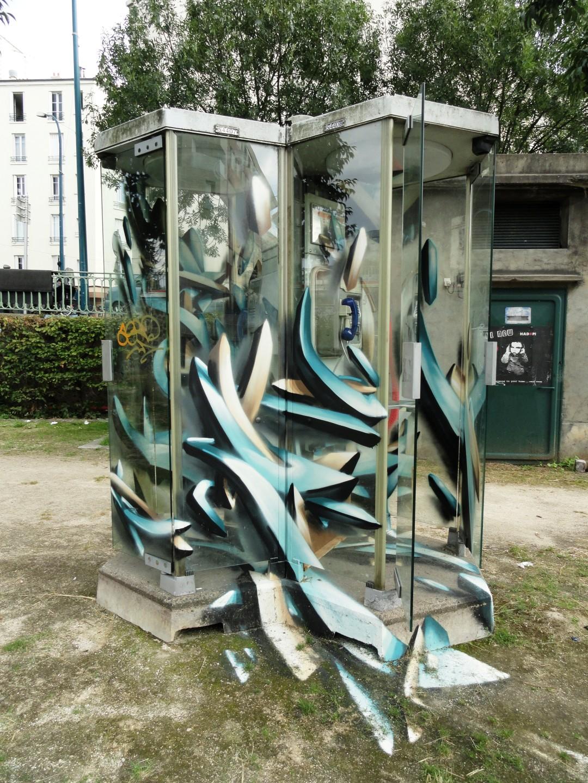 Canal de l'Ourcq - Pantin - Street art
