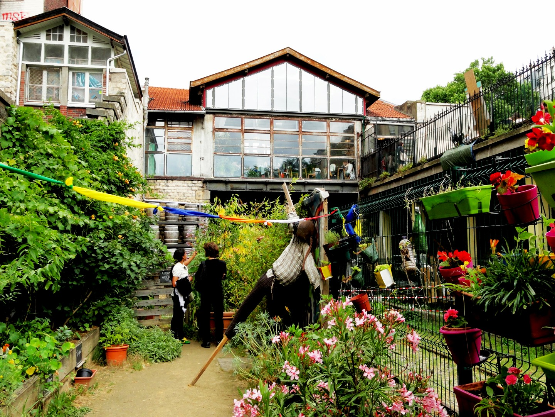 La recyclerie et les jardins du ruisseau un petit pois sur dix - La recyclerie porte de clignancourt ...