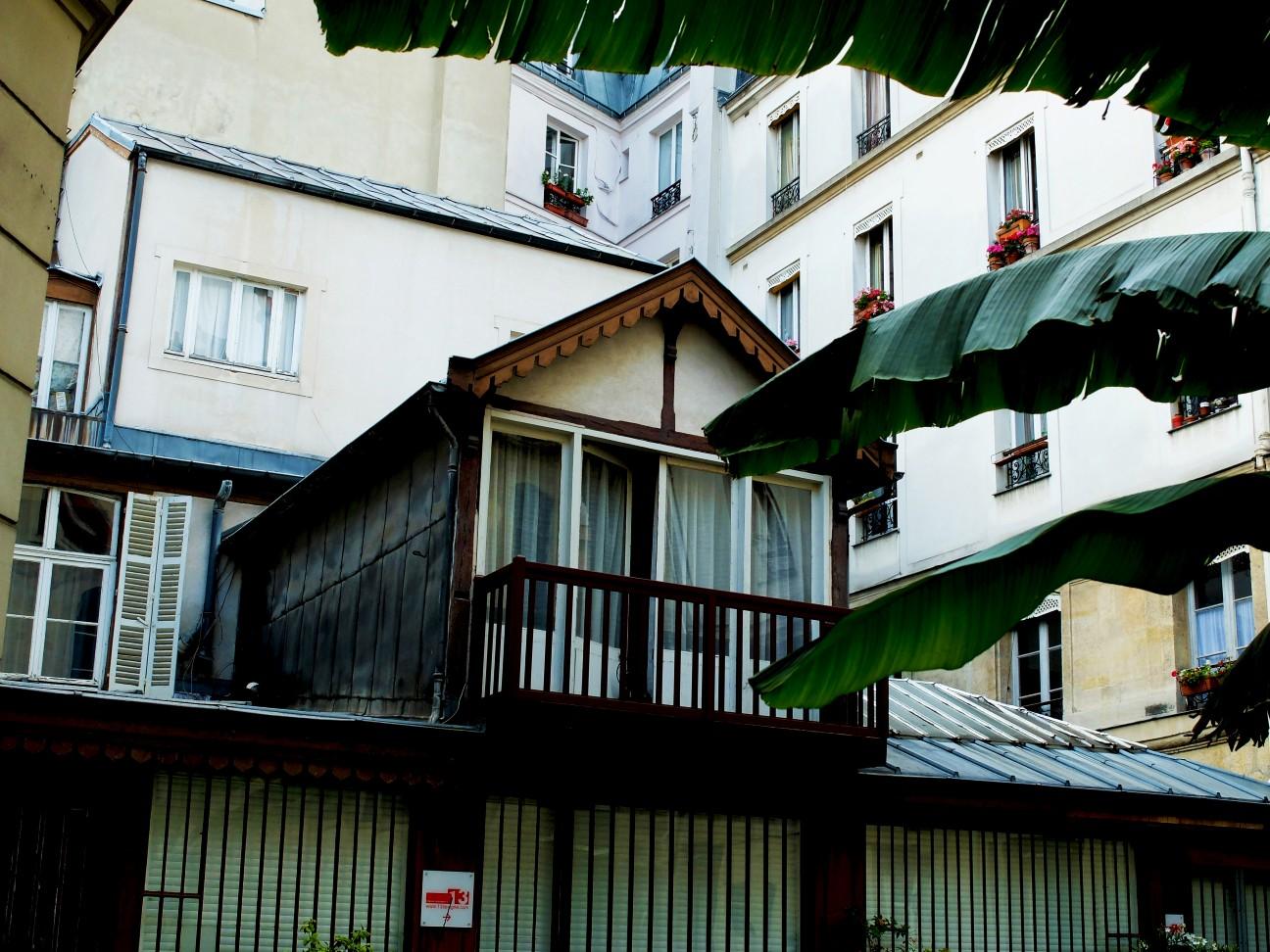 Rue de Sévigné - Cour intérieure