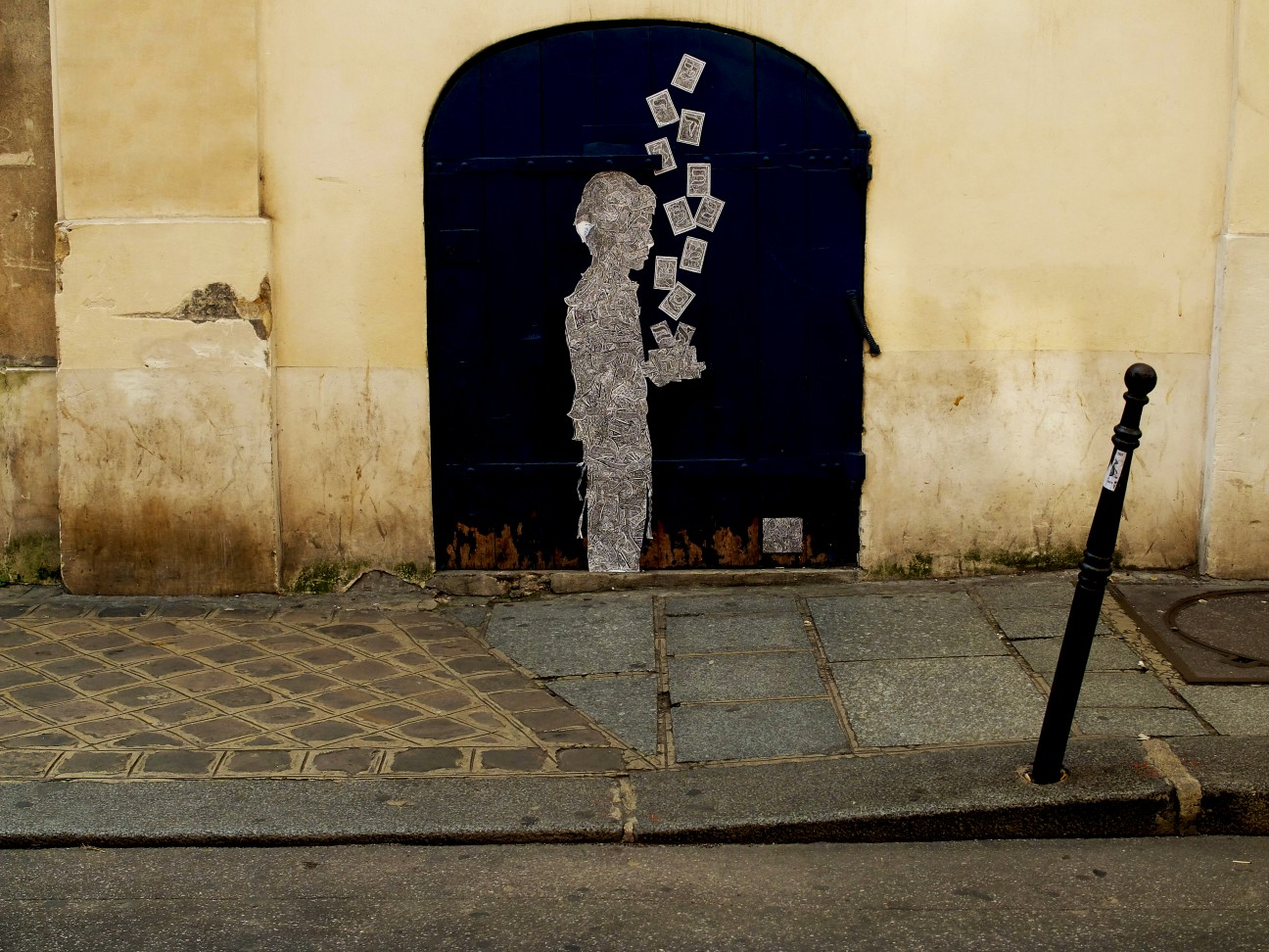 Balade dans le Marais - Rue Pavée