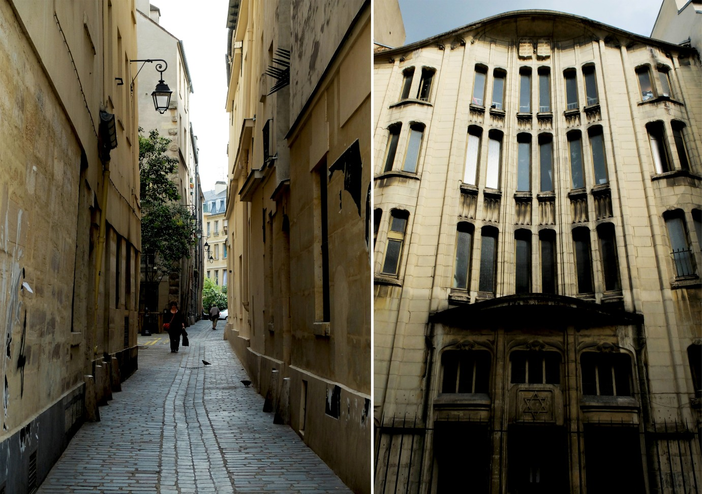 Balade Marais - Synagogue rue Pavée et la rue du Prévôt