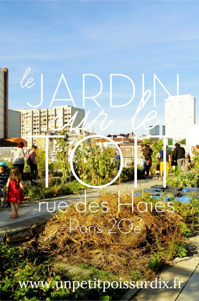 Jardin sur le Toit, Paris 20e