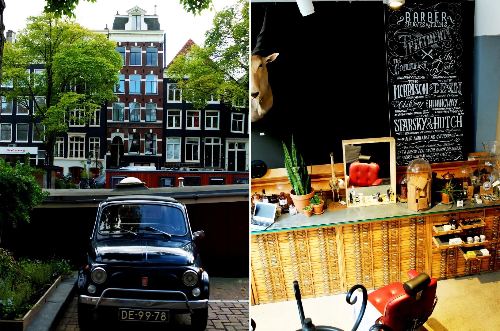 Amsterdam - Fiat 500 et Hutspot