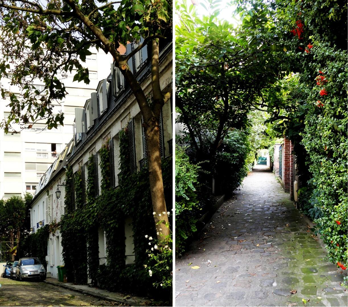 Balade dans le 15e - rue d'Alleray - Hameau d'Allerau et Villa Hersent