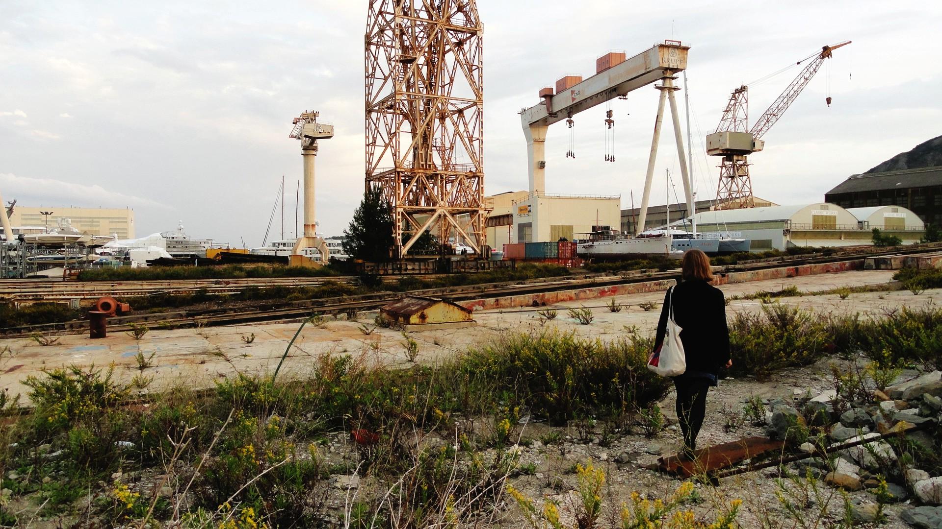 Quelques jours dans le Sud - La Ciotat, chantier naval
