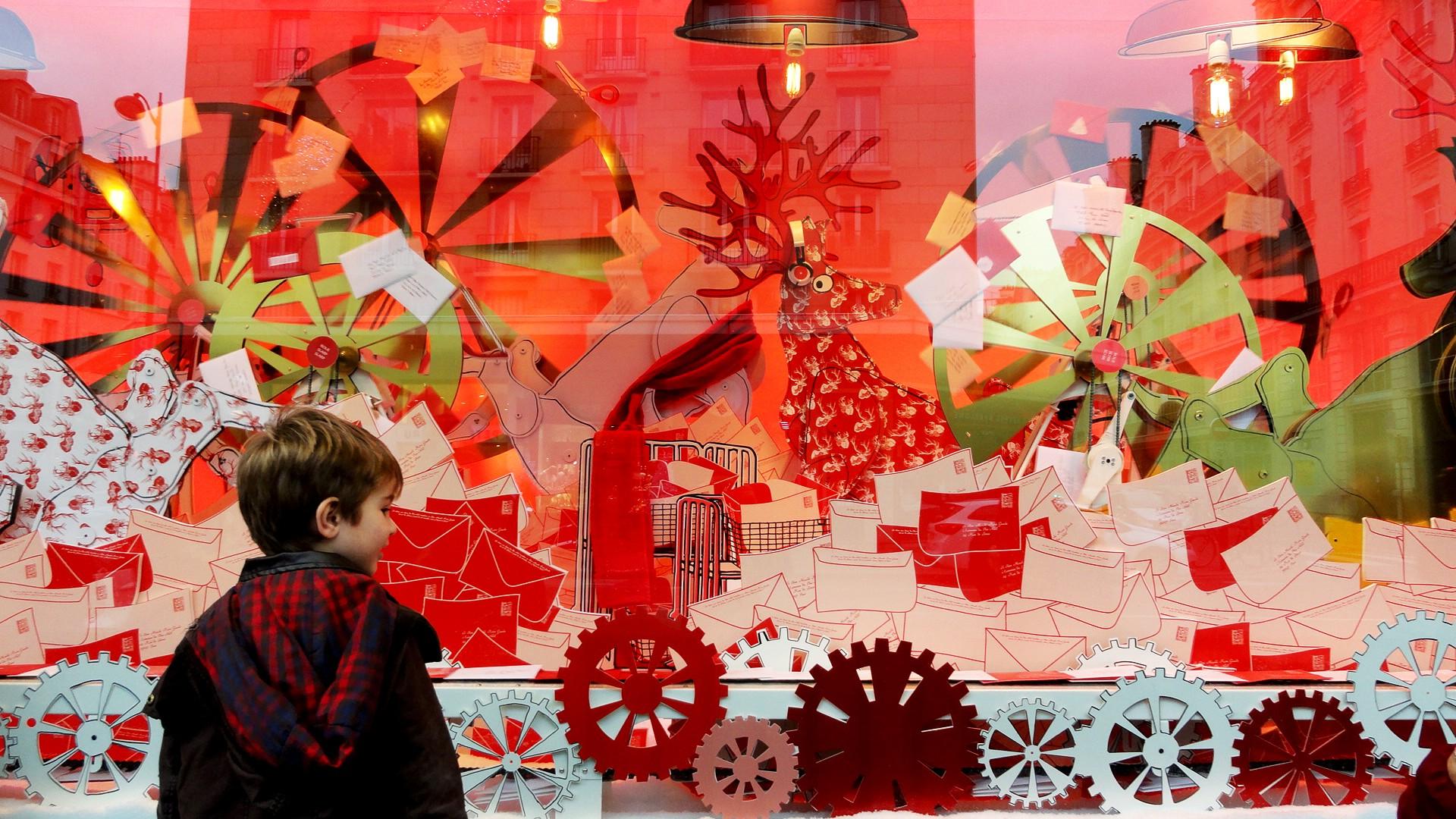 Noël 2014 au Bon Marché Rive Gauche