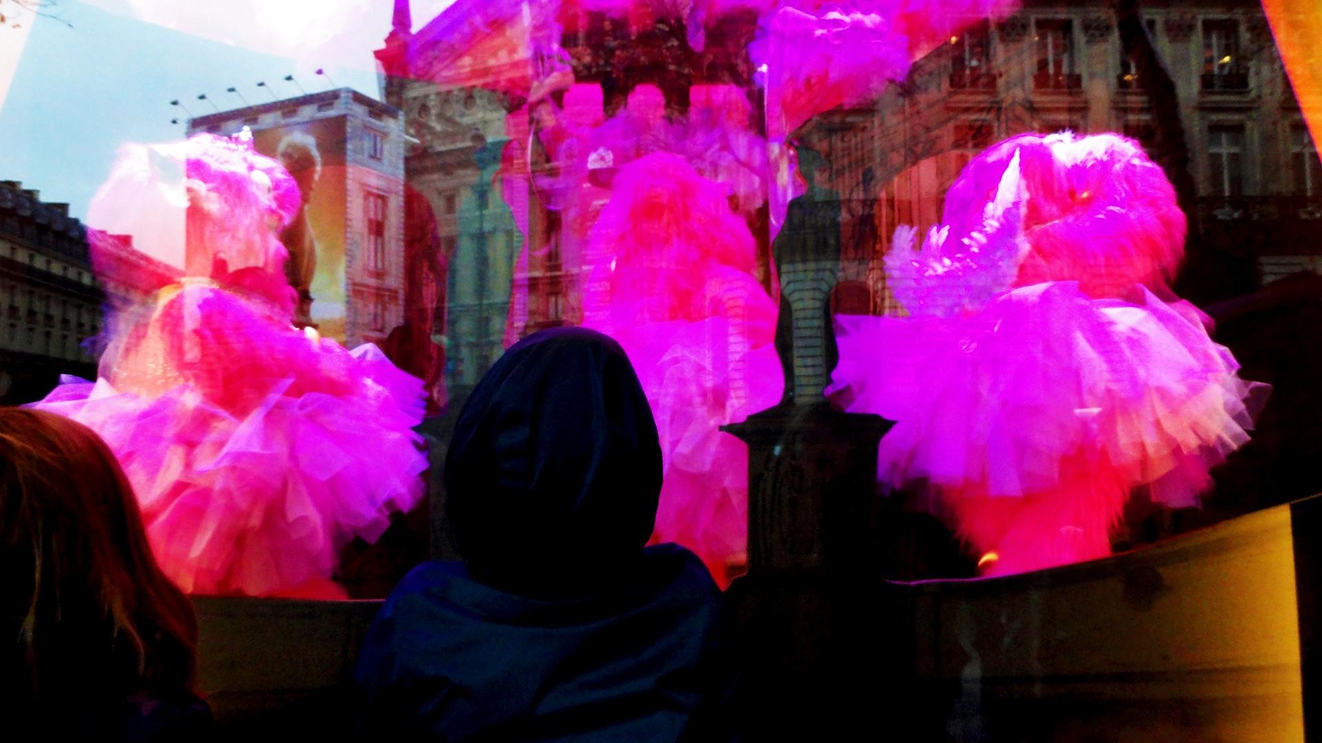 Vitrines de noël 2014 - Galeries Lafayette