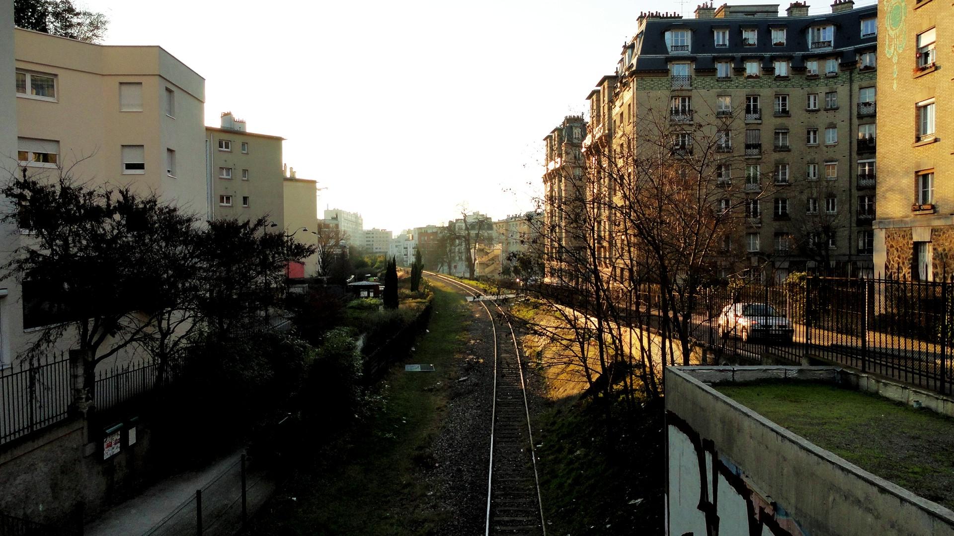 Balade le long de la Petite Ceinture (17e et 18e) - Quartier des Epinettes, Petite Ceinture