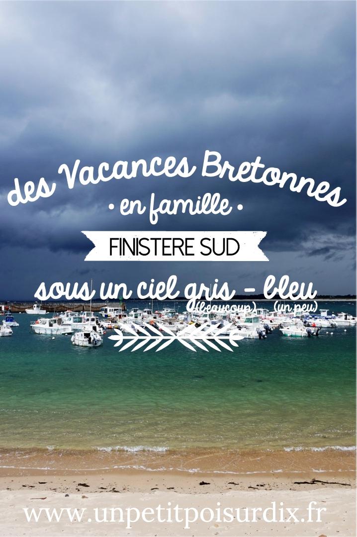 Vacances en Bretagne Sud