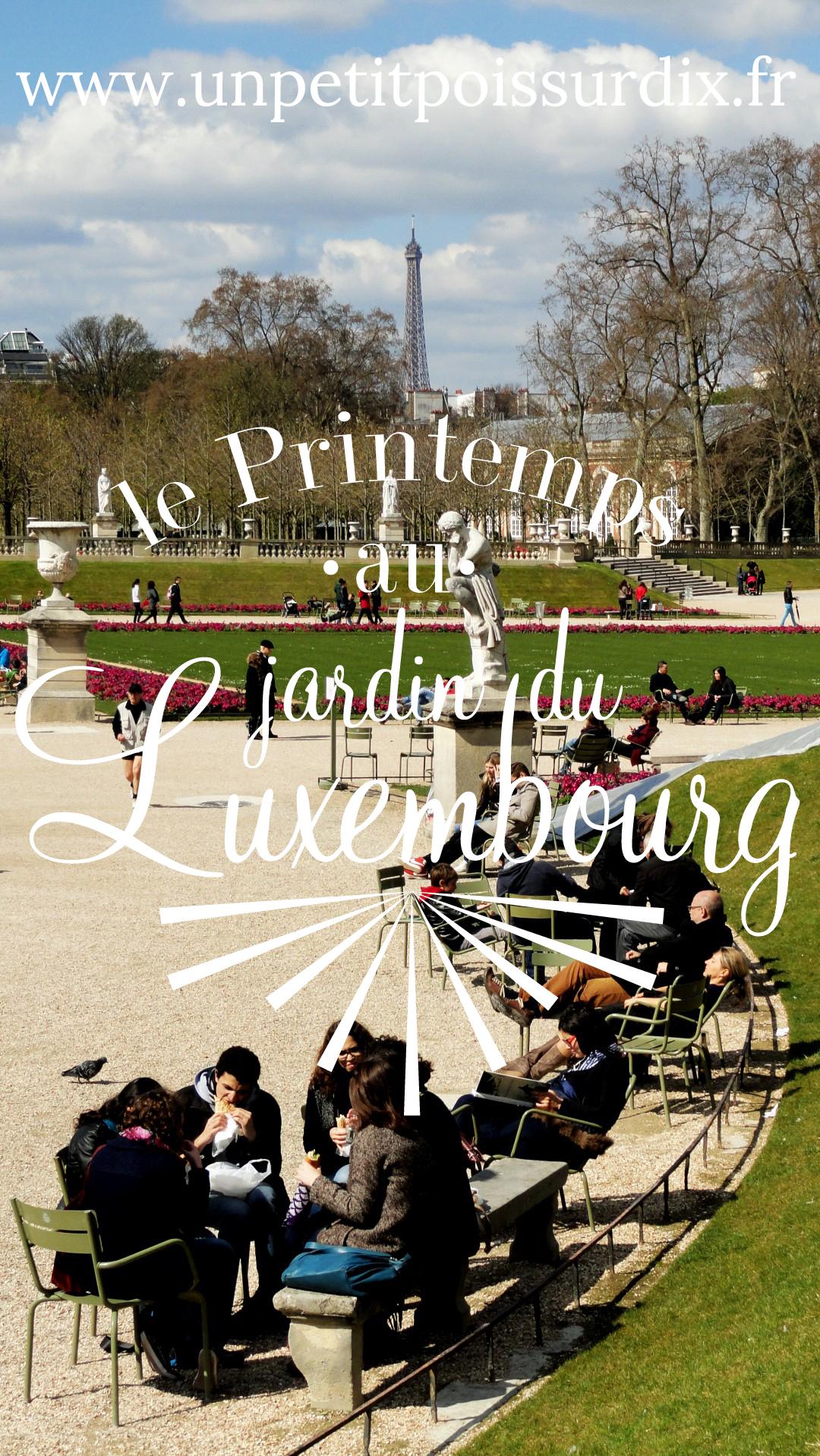 Le Printemps au Jardin du Luxembourg